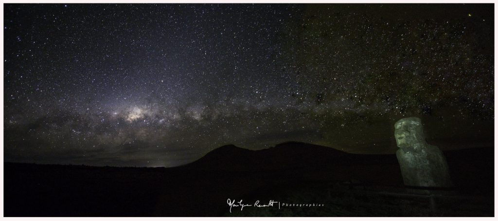 Milky Way from Easter Island